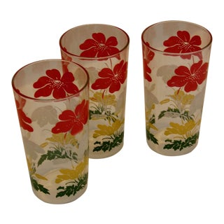 Mid-Century Tumblers, Set of 3