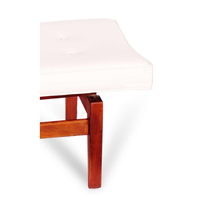 Mid-Century Modern Jens Risom Floating Bench, 1950s For Sale - Image 3 of 7