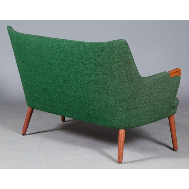 Mid-Century Modern Hans Wegner Ap 20 Sofa, Original Fabric, Denmark, 1950s-1960s For Sale - Image 3 of 6