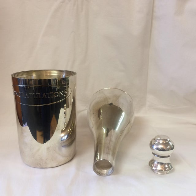 Silver Plated Champagne Flask - Image 11 of 11