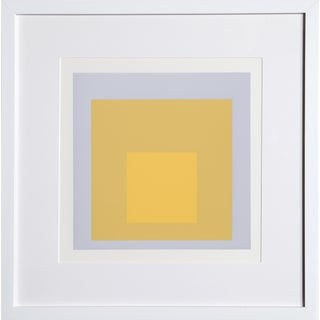 Josef Albers - Portfolio 2, Folder 4, Image 1 Framed Silkscreen For Sale