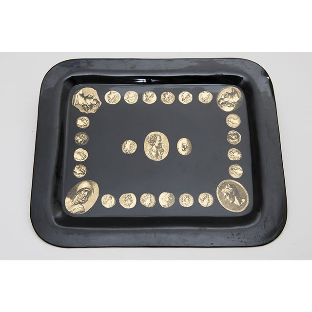 "Early ""Cammei"" Tray by Piero Fornasetti, 1950s - Image 2 of 8"