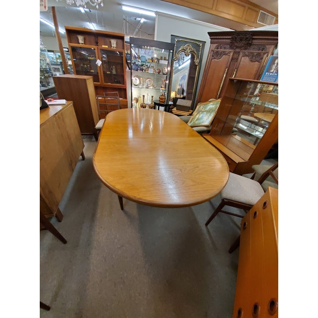 Wood Mid Century Modern G Plan Dining Table For Sale - Image 7 of 10