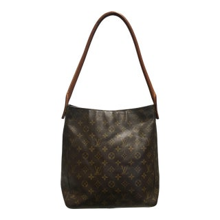 Vintage Louis Vuitton Monogram Looping Gm Handbag For Sale