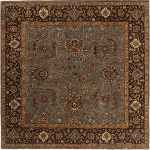Antique Reproduction Hand-Knotted Rug