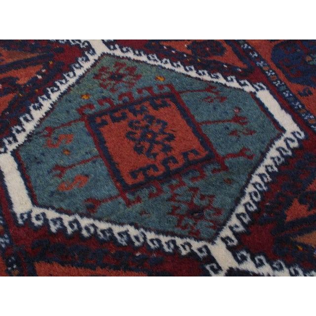 Early 20th Century Antique Kurdish Rug For Sale - Image 5 of 10