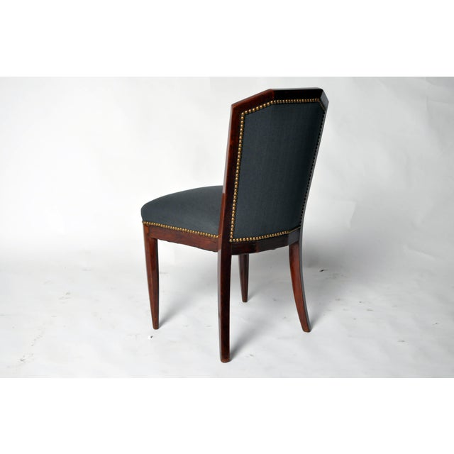 1940s 1940s Art Deco Dining Chairs - Set of 6 For Sale - Image 5 of 10