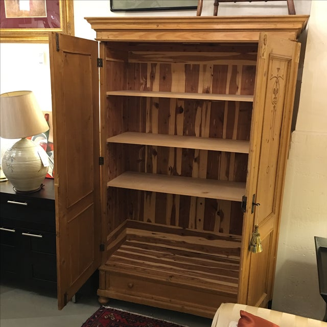 Cedar Lined Armoire - Image 4 of 10