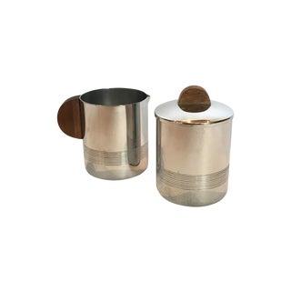 Bauhaus Creamer and Sugar Bowl Set