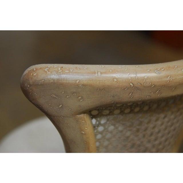 Vintage Swedish Gustavian Style Petite Barstools - Set of 4 - Image 10 of 10
