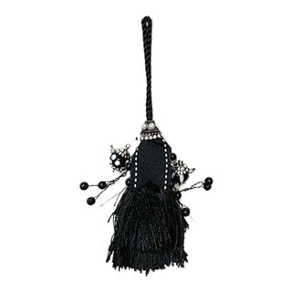 Vintage Mid-Century French Teapot Tassel Ornament For Sale