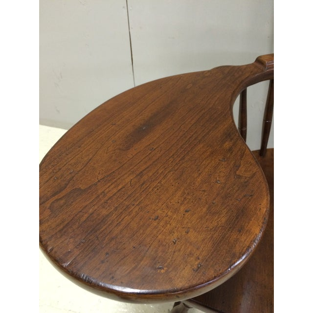 Pennsylvania House Comb Back Windsor Writing Chair For Sale - Image 9 of 10