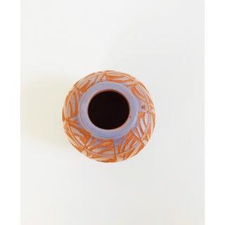 Vintage Hand Carved Navajo Pottery Bud Vase Preview