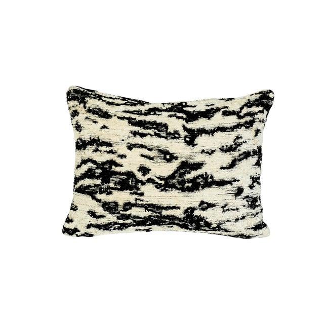 Schumacher Serengeti Lumbar Pillow in Tigre Blanc For Sale