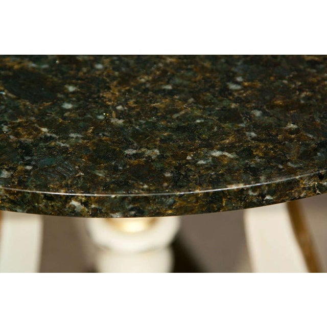 Art Deco Marble Top Side Tables - A Pair - Image 3 of 4