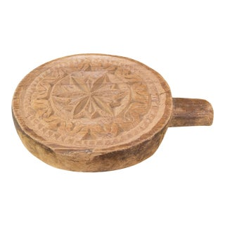 Viri Nepalese Carved Lotus Chakla Stand For Sale