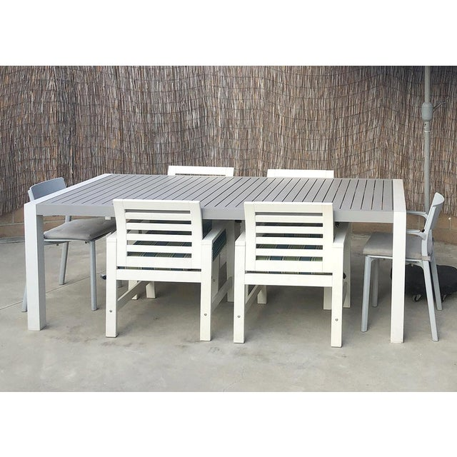 2010s Minimal Outdoor Dining Table For Sale - Image 5 of 5