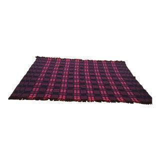 Blanket - Vintage - Hand Loomed For Sale