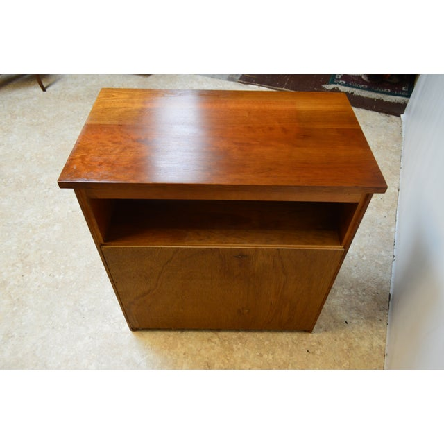 Stickley Bedside End Side Table Nightstand For Sale - Image 10 of 12