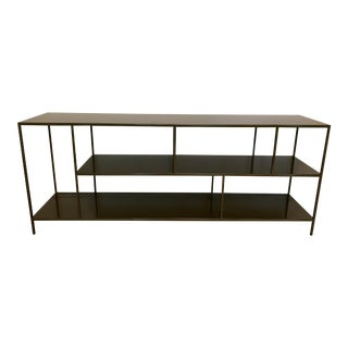 Room & Board Foshay Powder Coated Metal Shelving Unit For Sale