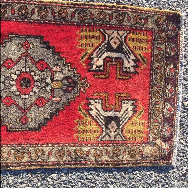 Anatolian Persian Rug - 1'6'' x 3'5'' - Image 4 of 9