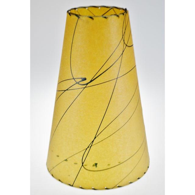Mid 20th Century Mid Century Fiberglass Atomic Style Lamp Shade For Sale - Image 5 of 13