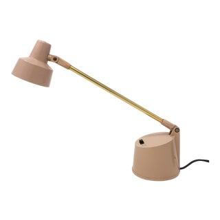 Vintage Tan Tensor Desk Lamp For Sale