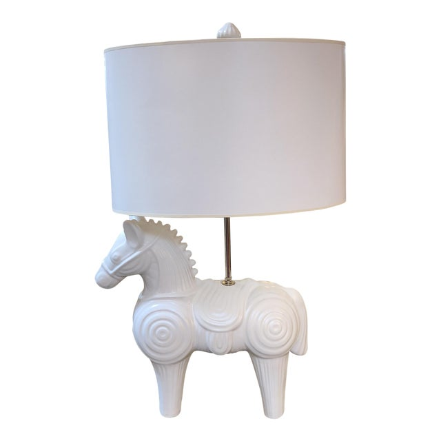 Jonathan adler horse table lamp chairish jonathan adler horse table lamp aloadofball Gallery