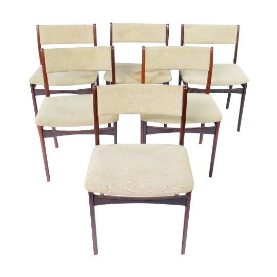 Mid-Century Modern Danish Chairs - Set of 6 - Image 1 of 6