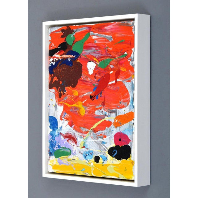Abstract 1980s Abstract Painting by John Seery For Sale - Image 3 of 10