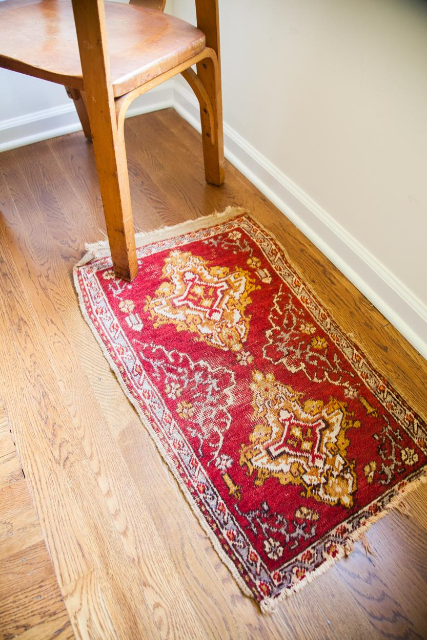 Small Turkish Scatter Rug 1 8 Quot X 2 11 Quot Chairish