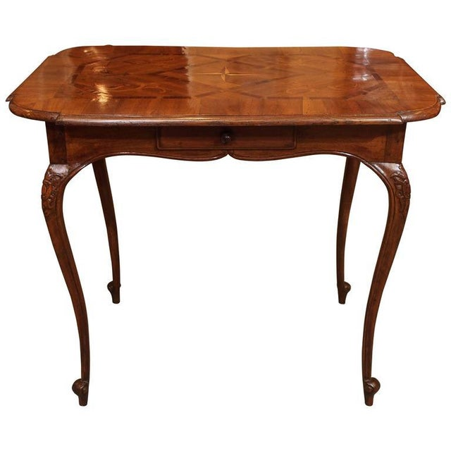 Antique French Tea Table - Image 9 of 9