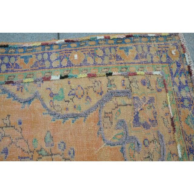 Antique Turkish Overdyed Pompom Rug 73 X 104 Chairish