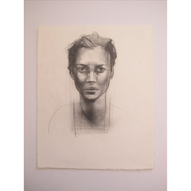 Woman Portrait Drawing - Image 2 of 3