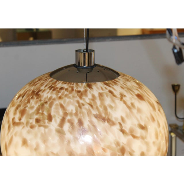 Murano Glass Large Pendant For Sale - Image 10 of 13