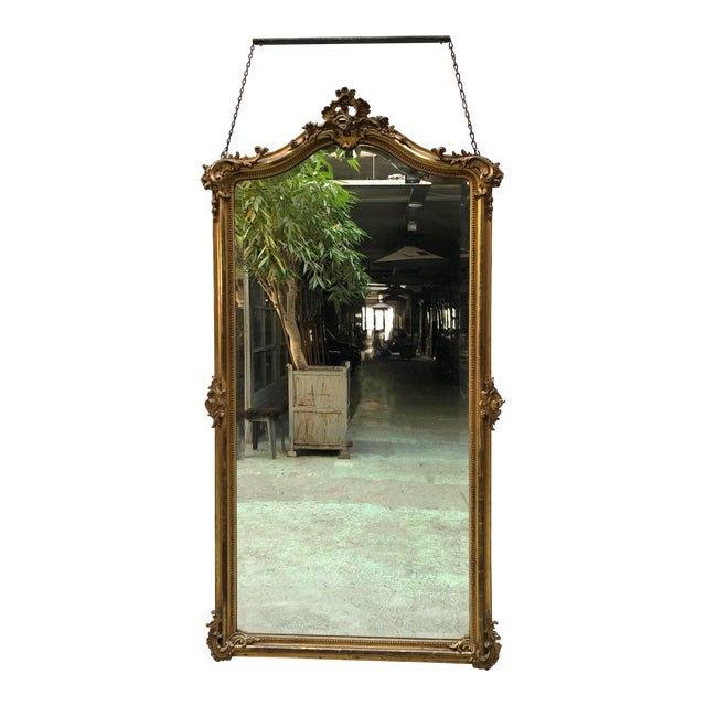French 19th Century Mirror Style Louis XV For Sale