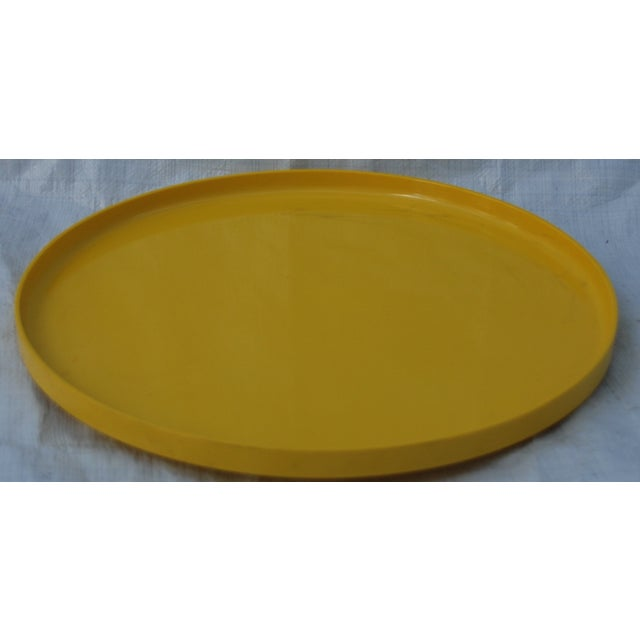 Massimo Vignelli for Heller Tray in Yellow - Image 2 of 5