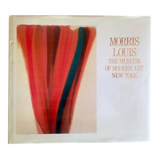 "Vintage 1st Edtn ""Morris Louis Moma"" Collector's Abstract Expressionist Art Book, 1986"