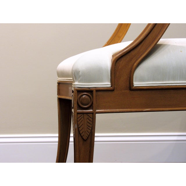 J. Robert Scott Tuscan Italian Arm Chairs For Sale In West Palm - Image 6 of 8