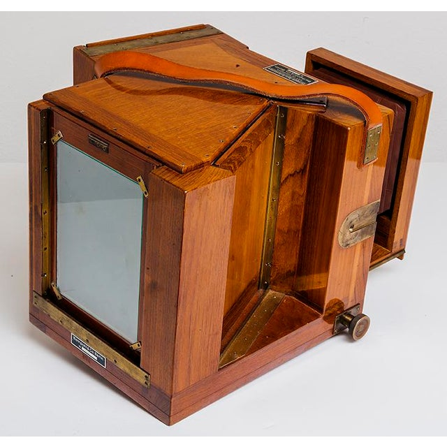 Vintage Bermpohl Naturfarbenkamera Collectible Camera For Sale - Image 4 of 5