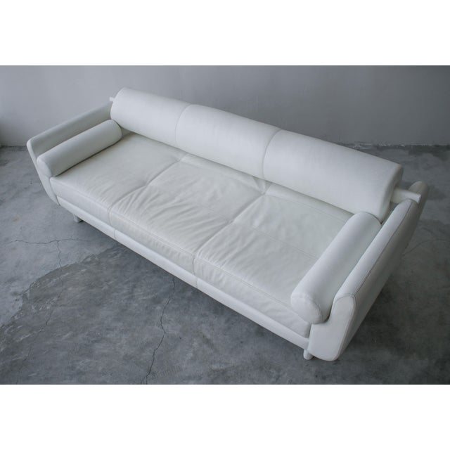 White Matinee Sofa Daybed by Vladimir Kagan for American Leather For Sale - Image 8 of 13