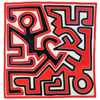 Keith Haring, Untitled (1988), Offset Lithograph, 1989 For Sale