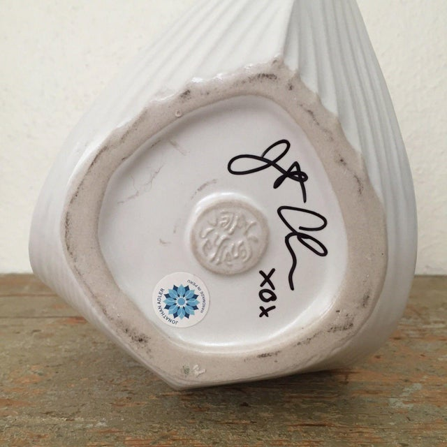 Jonathan Adler Signed White Whale Pitcher - Image 5 of 6