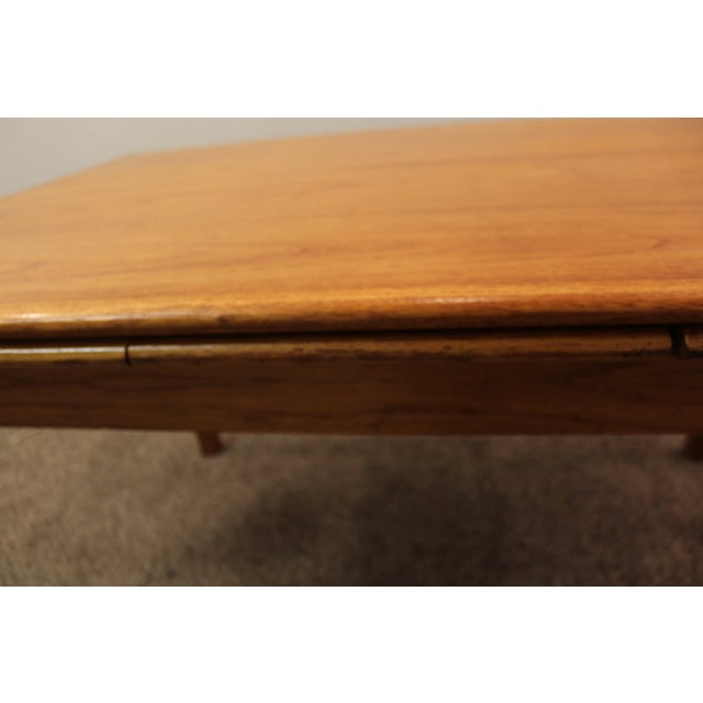 Mid-Century Danish Modern Teak Dining Table - Image 8 of 10