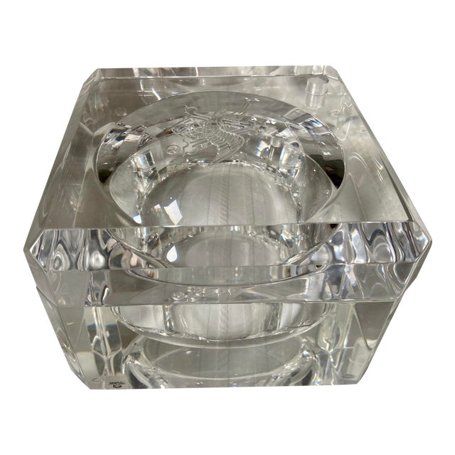 1960s Vintage Peter Alan Designs Anheuser Busch Lucite Candy Dish For Sale