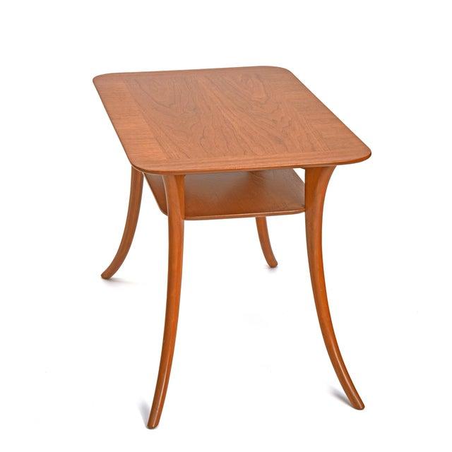 Mahogany 1950s Terence Harold Robsjohn-Gibbings Klismos Side Tables - a Pair For Sale - Image 7 of 9