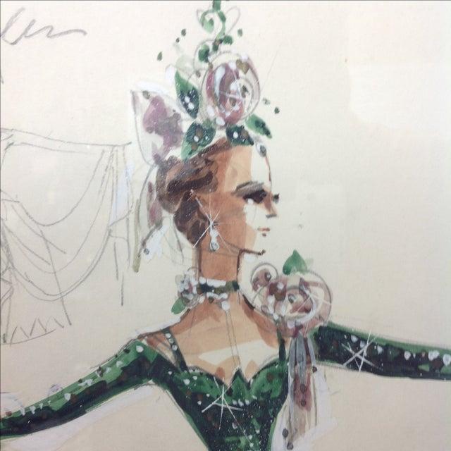 """Original Winn Morton Gown Design """"Rose Garden"""" For Sale In Dallas - Image 6 of 7"""