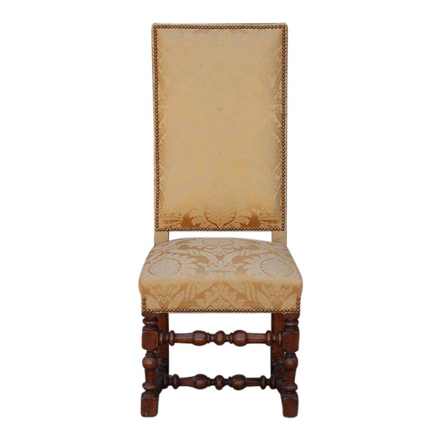 Pair of Exceptional French Gold Chairs For Sale
