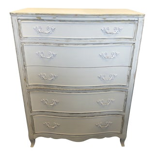 French Provencal Distressed Chest of Drawers For Sale