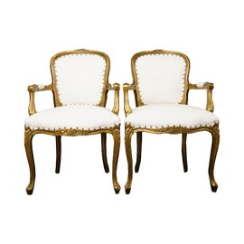 Image of Office Bergere Chairs